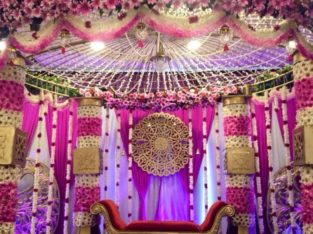 PARTY HALL & STAGE DECORATIONS – INDHU PARTY SERVICES –