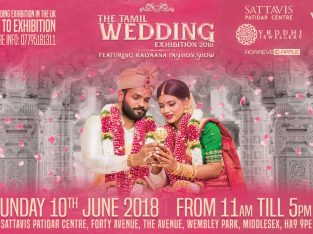 The Tamil Wedding Exhibition 2018 – FREE ENTRY